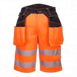 PW3 Hi-Vis Pantaloni Scurti Holster