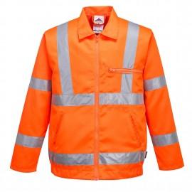 Jacheta din Poli-bumbac Hi-Vis  RIS.