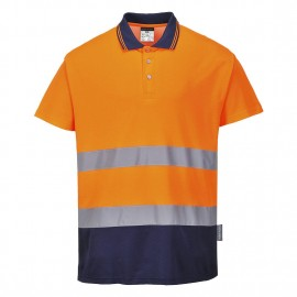 Tricou Polo Bumbac Confort Bicolor
