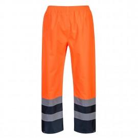 Pantaloni Hi-Vis Traffic Doua Tonuri