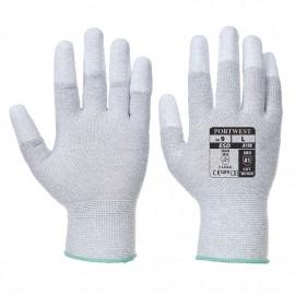 Manusa antistatica vending aplicatii PU pe varful degetelor