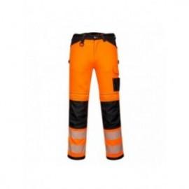 PW3 Pantaloni de lucru Hi Vis stretch Dama