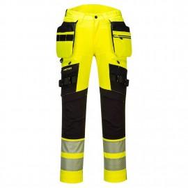 DX4 Hi -Vis Pantaloni cu buzunare detasabile